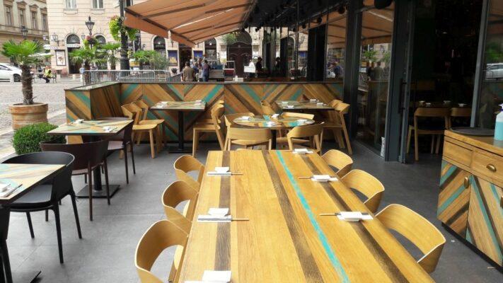 Japanika étterem - terasz
