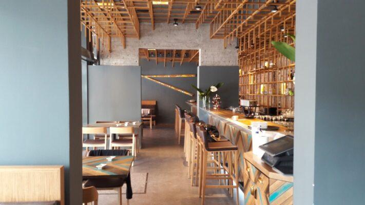 Japanika étterem - belső