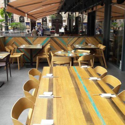 Asztalos munkák - kész terasz