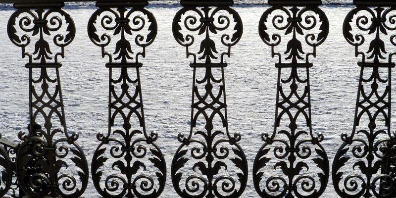 kovácsoltvas kerítés korlát