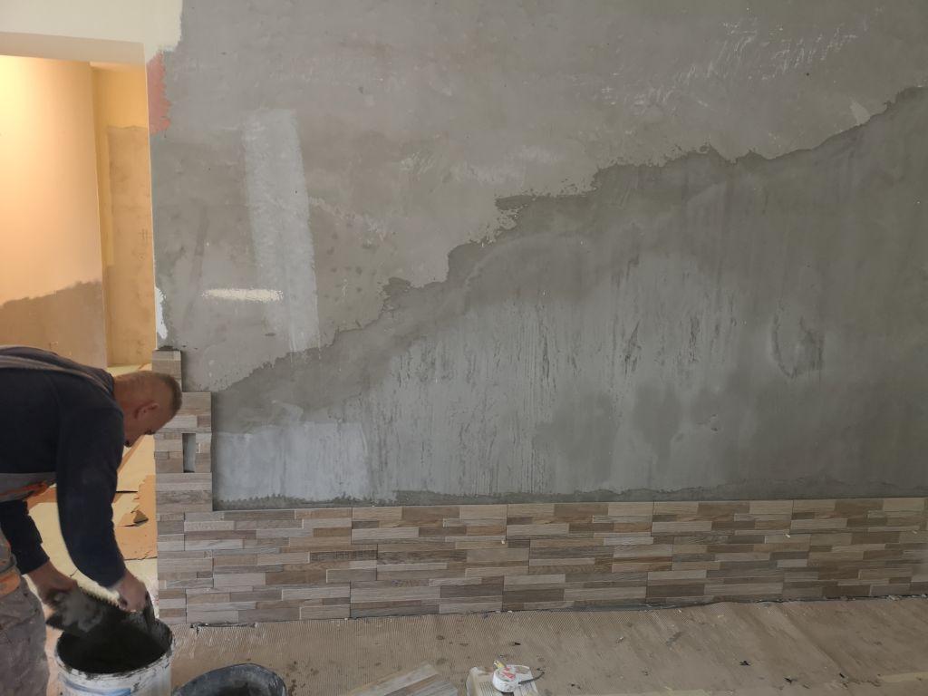 Melegburkolás (fali kőburkolat)